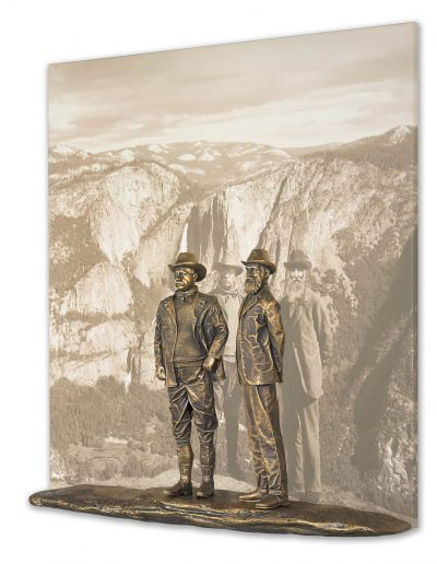Lou Michaels mixed media sculpture Fortitude x Two from right