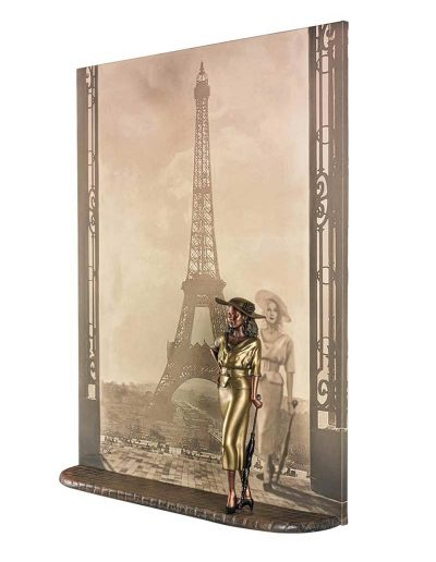 Lou-Michaels-mixed-media-sculpture_Eiffel_tower-from-right-4